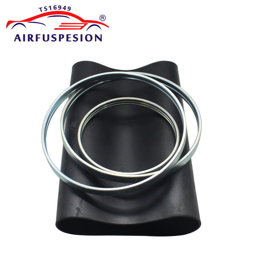 For Audi A6 C6 4F Front Pillow Rubber Sleeve with rings Air Bellow Air Suspension Repair