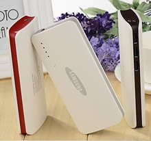 Para SAMSUNG powerbank 20000 mah 3 USB banco de la Energía de batería Externa para Xiaomi iPhone 6 6 s más la batería De Respaldo para todos teléfonos