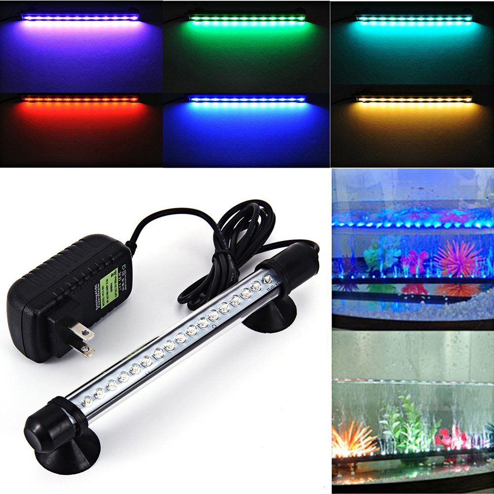 Fish tank lights for sale - Us 16 24 69leds Aquarium Fish Tank Light Strip Bar Lamp With