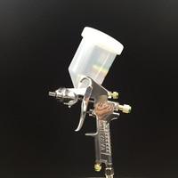 YZ W 71G Spray Foam Gun Airbrush Paint Spray Gun Bottle 400cc Pressure Pneumatic Tools For