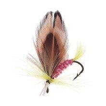 Anmuka 12pcs/set Various Dry Fly Fishing Trout Salmon Dry Flies Fish Hook Lures fishing fishing pesca