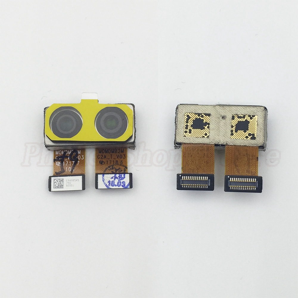 Original For OnePlus 5 1+5 Rear Back Camera For OnePlus Five Big Camera Module With Flex Cable