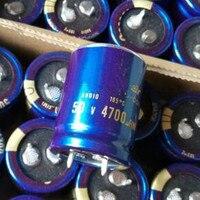 2PCS 4PCS LOT 50V4700UF 50V 4700UF JAPAN 25X35 Capacitor DIY HIFI