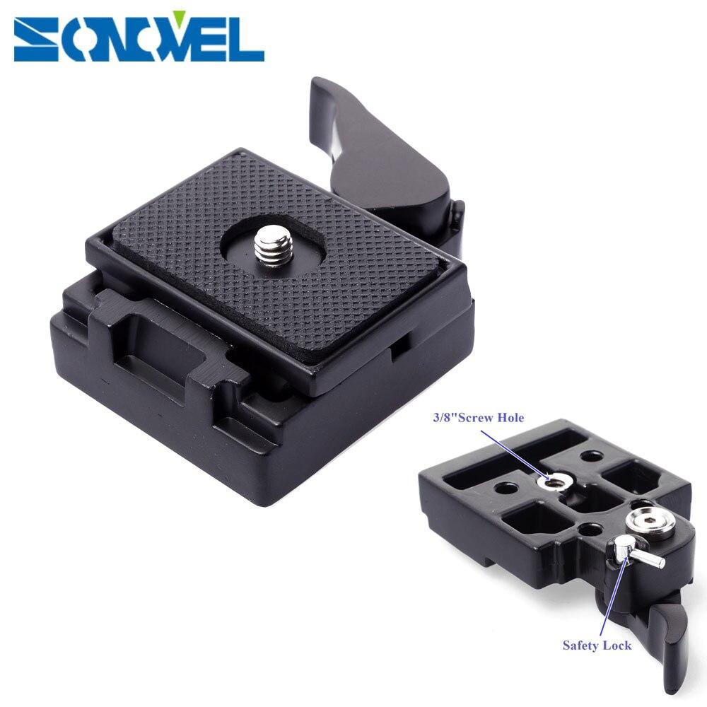 Caméra Quick Release Clamp Adaptateur Pour Caméra Trépied avec Manfrotto 200PL-14 Compat Plaque BS88 HB88 Stabilisateur Plaque