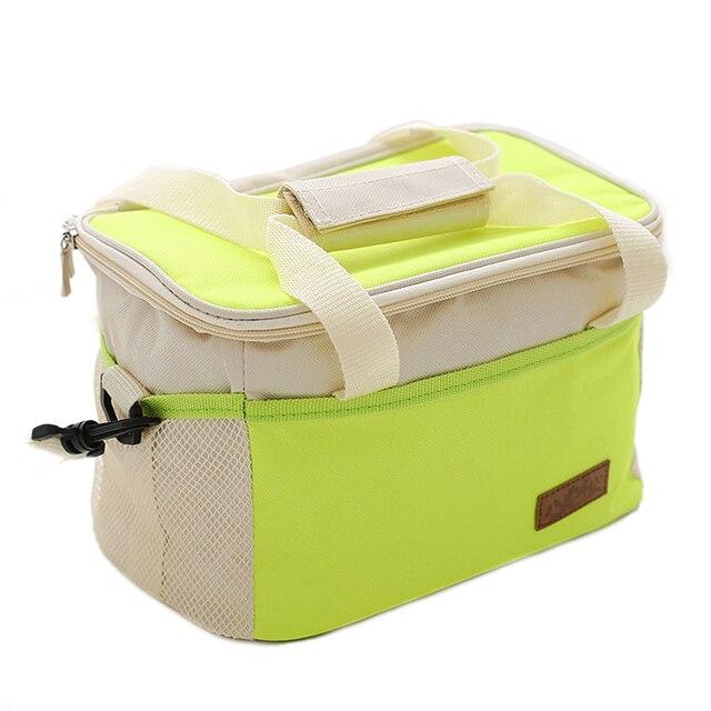 Оксфорд холодный loncheras termicas тепловой ланчбокс сумка плеча обед сумки для пикника классический bolso де almuerzo lunchbag
