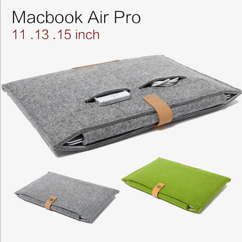 Topsale New Notebook Laptop Sleeve for Macbook Air/Pro Case Cover 12 13 15 Inch Computer Bag Laptop Bag Best Price