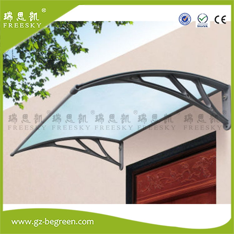 YP100120 100x120cm 100x240cm 100x360cm Door Canopies Polycarbonate Window Awnings Awning Sun Shade Shelter Clear Sheet