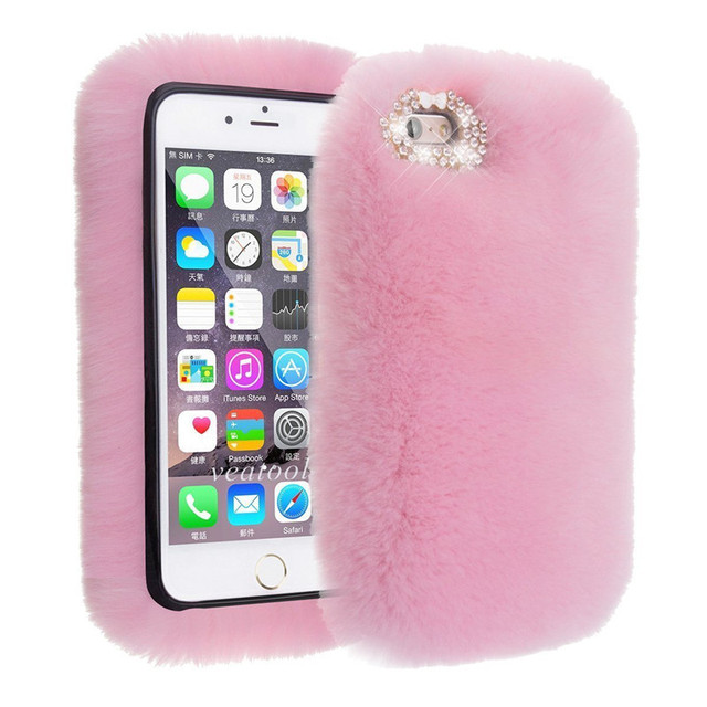 US $11 89 30% OFF|1Pcs Fashion Luxury Warm Fluffy Rabbit Fur Phone Case For  OPPO F1s R9s R11 R11s Plus A39 A59 A77 A73 A79 A83 A71 F3 F5 F7 R15-in