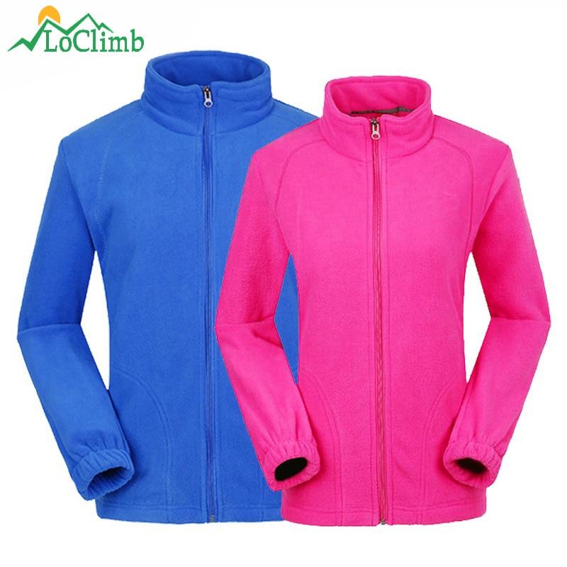 Loclimb Для мужчин Для женщин Открытый Спорт флисовая куртка 2017 зимняя отапливаемое помещение для Пальто для будущих мам походы кемпинг Походные куртки Костюмы, am132
