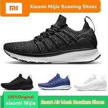 Original Men Smart Running Shoes Outdoor Sport MI Air Mesh Sneakers 2 Breathable Knitting Vamp Tennis not chip