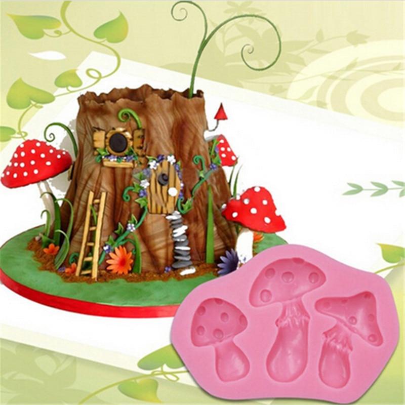 ୧ʕ ʔ୨Setas DIY silicona cake molde chocolate fondant moldes pastel ...