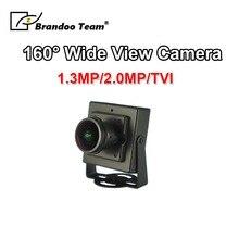 Широкий угол обзора 160 градусов 1,8 мм Автомобильная камера Поддержка TVI сигнала для такси, мини-автобус, частный автомобиль, используется