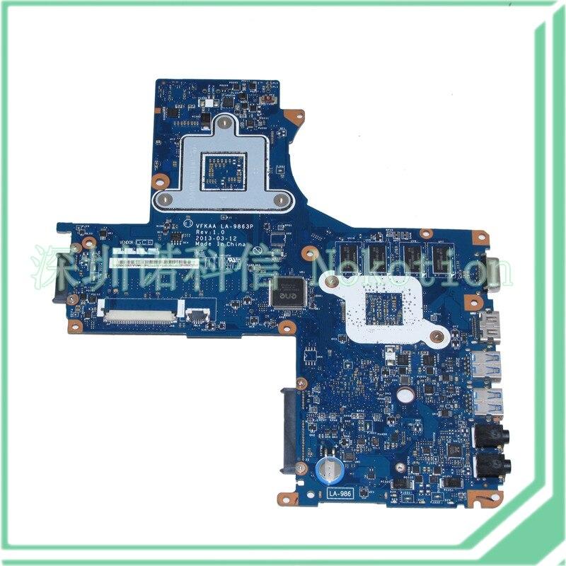 For Toshiba satellite S40 Motherboard K000141340 LA-9863P HM76 NVIDIA GT740M
