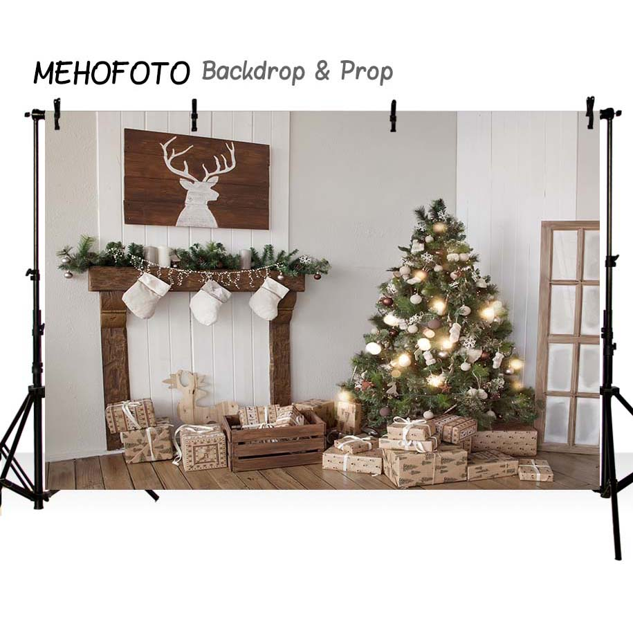 Image 3 - MEHOFOTO Christmas backdrops Photography Backdrop Birthday Party Custom Fotografia Seamless  Photo Backgrounds-in Background from Consumer Electronics
