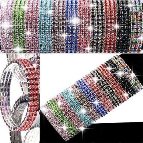 Mix Color Silver Plated Shining Charm Bracelet Wholesale Price 5pcs/lot Bangle Cuff Fashion bracelet women Free