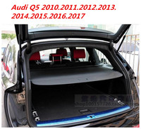 JIOYNG Car Rear Trunk Security Shield Cargo Cover For Audi Q5 2010.2011.2012.2013.2014.2015.2016.2017.2018 ( black, beige)