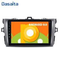 Android 9.0 Car 1 din Car multimedia for Toyota Corolla 2009 2010 2011 2012 2013 Car Radio Bluetooth 8 IPS Multi Touch Screen