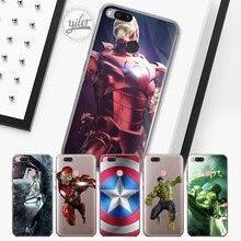 Купить с кэшбэком Super hero Coque for XiaoMi Mi 5X A1 Cases for Xiaomi Mi 6 Mi 8 Cases for RedMi Note 5 4X 4 Funda for Redmi 4X 5A 5 5Plus Cases