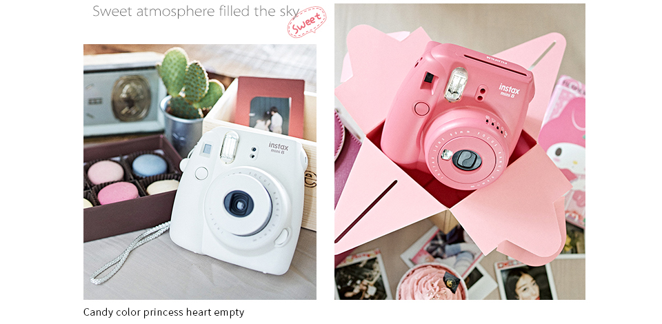 MINI8_05  Fujifilm Fuji Instax Mini eight Prompt Movie Photograph Digicam + Mini eight Bag + Lens + 20 Sheets Movie + 36 Pockets Photograph Case Free Transport HTB15f