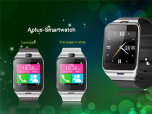 10 stücke Aplus Smart bluetooth uhr mit Kamera bluetooth armbanduhr sim-karte Smartwatch für iPhone6 Android Phone