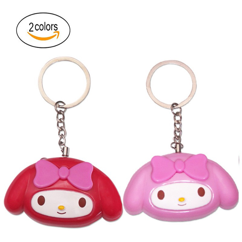Portable Defense Personal Alarm Girl Women Anti-Attack Security Protect Alert Emergency Safety Mini Loud Keychain Alarm