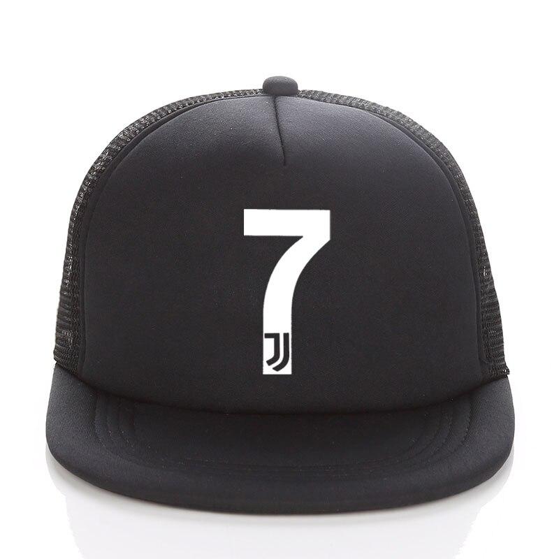 5b7b603ef5 juventus hat Kids Adult Summer Baseball Hat RONALDO Caps Fans JUVENTUS  Trucker Cap Net Snapback hats For Men Women 7 FANS