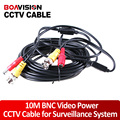 10 Meter All-In-One Video&Power Cable CCTV Camera Cable BNC Cable Coaxial Cable For CCTV Camera
