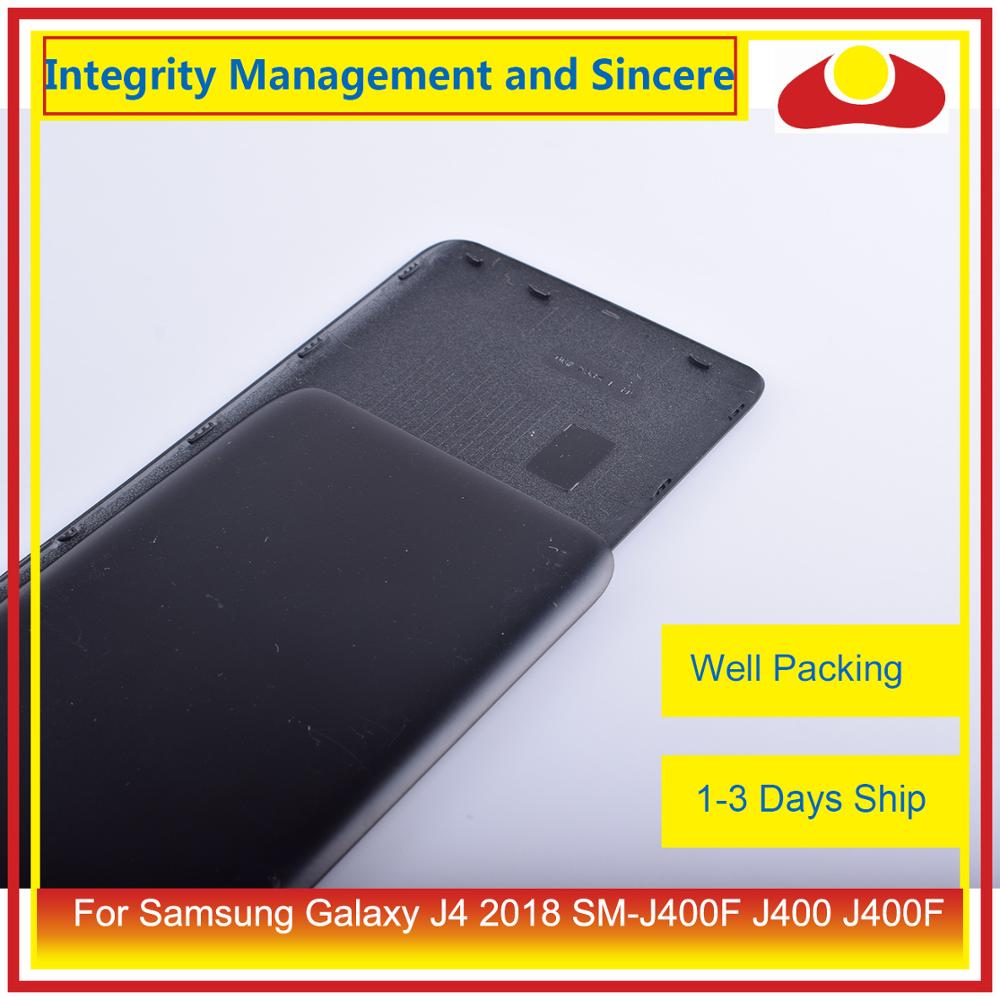 Image 4 - Original For Samsung Galaxy J4 2018 SM J400F J400 J400F Housing Battery Door Rear Back Cover Case Chassis Shell Replacement-in Mobile Phone Housings & Frames from Cellphones & Telecommunications