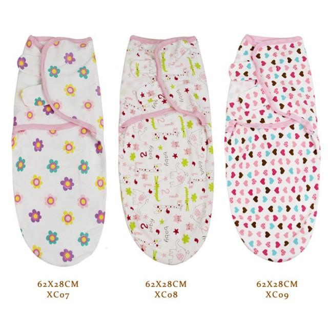 Aliexpress.com: Comprar 62*28 cm bebé recién nacido envolver manta ...