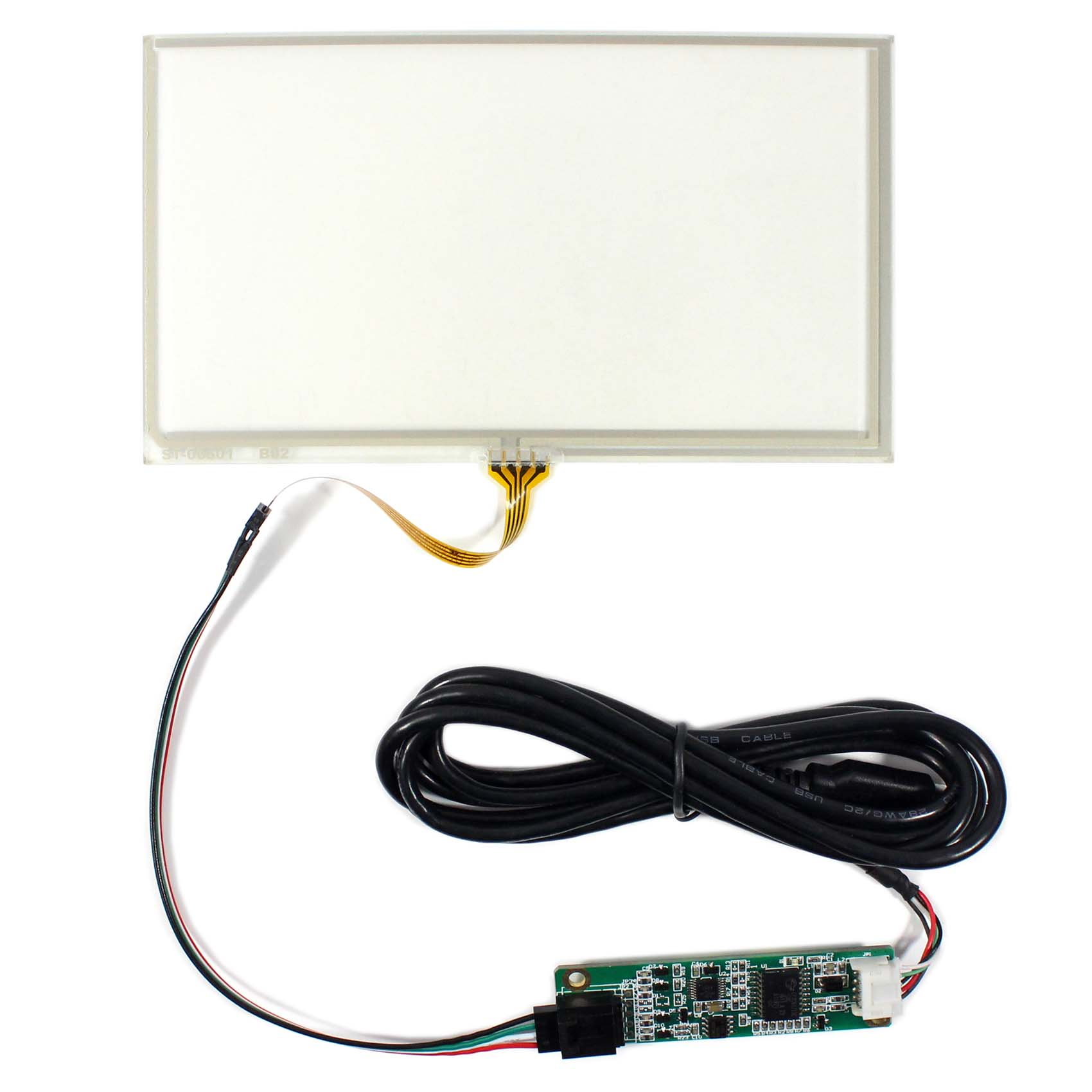 6.5inch Resistive Touch screen for 6.5inch 800x480 Lcd panel USB Controller