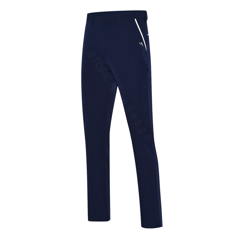 2018 new men golf pants sports trousers summer all-match korean long pants spring golf clothing men brand pants white navy цена