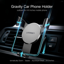 Ugreen Air Vent Car Phone Holder for Smartphone 4-6 inch Width