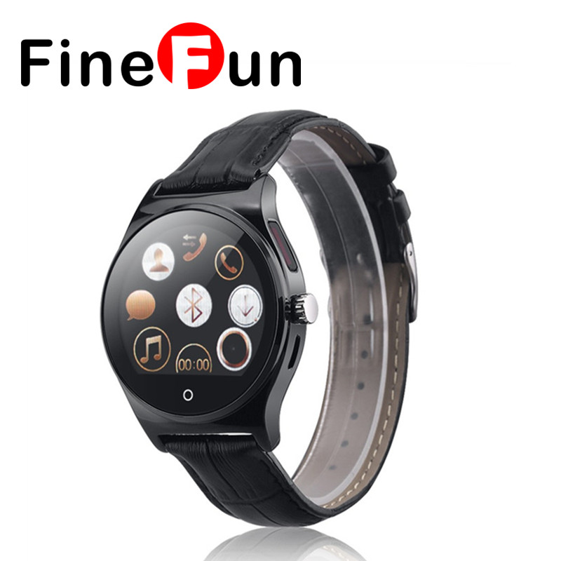 ФОТО FineFun R11 Smart Watch Infrared Remote Controller Heart Rate Calls/SMS Sedentary Reminder BT Music Pedometer for Android IOS
