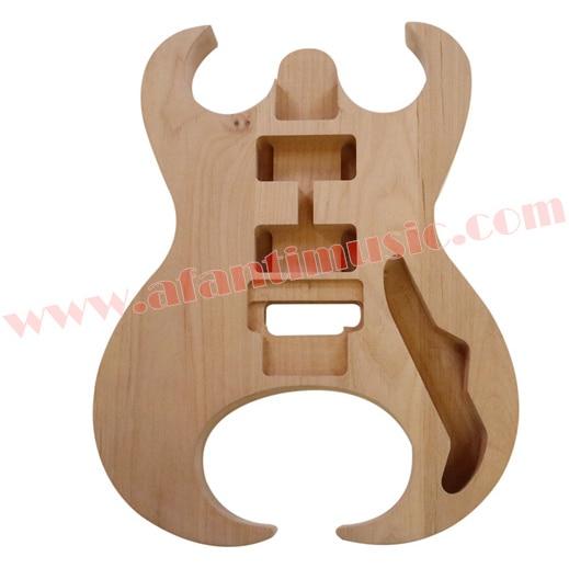 Afanti Music DIY guitar DIY Electric guitar body (ADK-132) afanti music acoustic guitar repair tools gtl 109