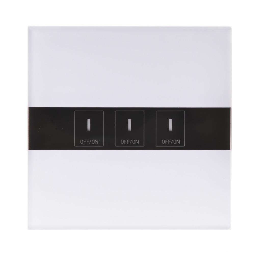 3-Way WIFI Smart LED Switch Touch Switch Panel Ewelink APP Google Home Alexa Voice Control 90-250V 600W/Gang 3 way wifi smart led switch touch switch panel ewelink app google home alexa voice control 90 250v 600w gang