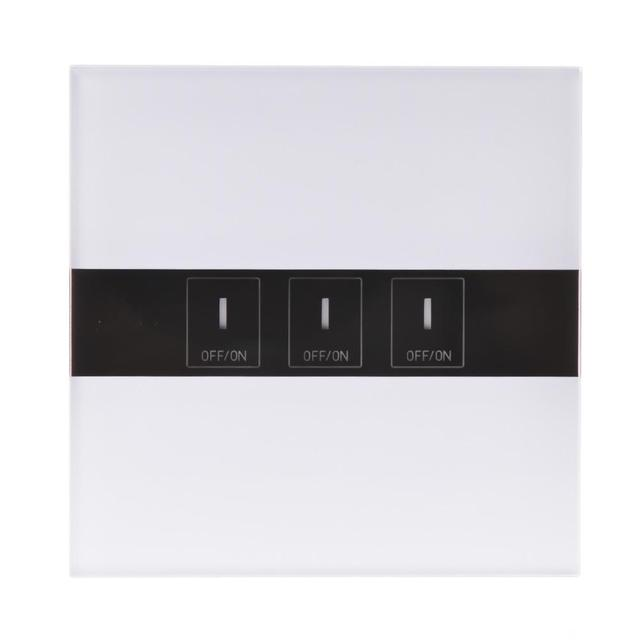 3 Way Wifi Smart Led Switch Touch Panel Ewelink Google Home Alexa Voice Control 90 250v 600w Gang