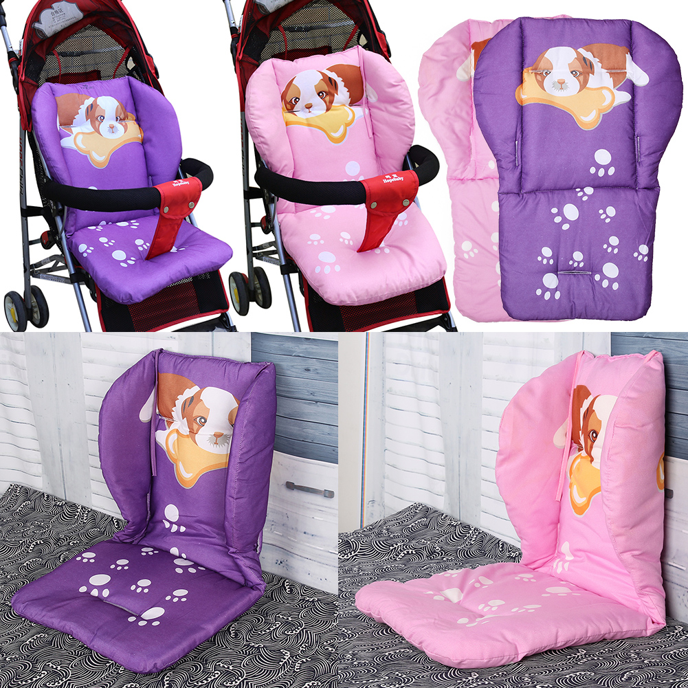 Baby Infant Floor Mat Breathable Stroller Full Cotton Thickening Baby Carriage Umbrella Cart Trolley Cartoon Cushion