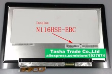 For Lenovo Yoga 3 11 N116HSE-EBC LCD Touch Screen Assembly Yoga 3 11 LCD Assembly N116EBC EBC