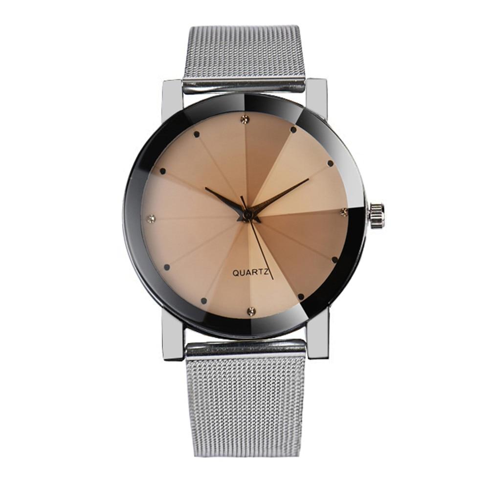 Relogio Feminino Fashion Women Watches Crystal Stainless Steel Analog Quartz Watch Women Reloj Mujer A01