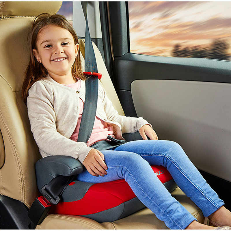 Backless Booster Car Seat Increase Pad Universal