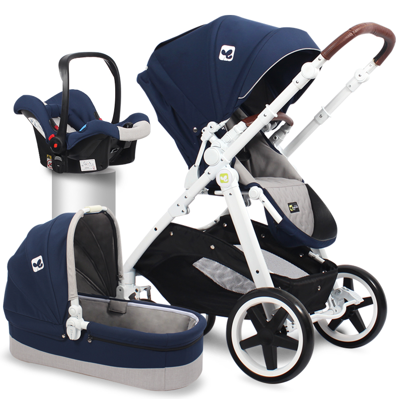 3 in 1 EU standard baby strollers 2 in 1 baby stroller baby carriage newborn baby 0- 3 years brand baby strollers 3 in 1 baby stroller 4 in 1 baby carriage eu market high quality baby stroller export newborn gift