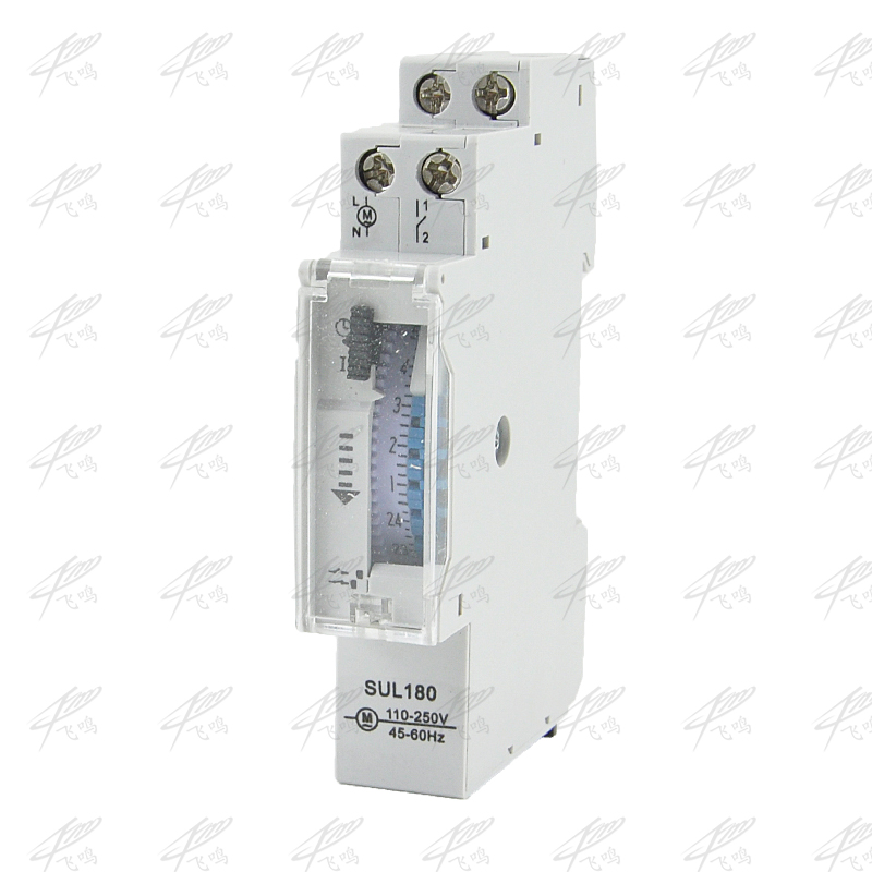 SUL180a 15 Minutes Mechanical Timer 24 Hours Programmable Din Rail Timer Time Switch Relay Measurement Analysis Instruments time frequency analysis