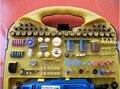 220V 183pcs jewelry dental wood bone Electric Rotary Grinder Polishing burnishing engraving finishing Sanding Tool Kit DREMEL