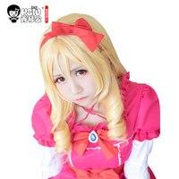 HSIU NEW Yamada Elf Cosplay Wig Eromanga Sensei Costume Play Wigs Halloween Costumes Hair free shipping High quality