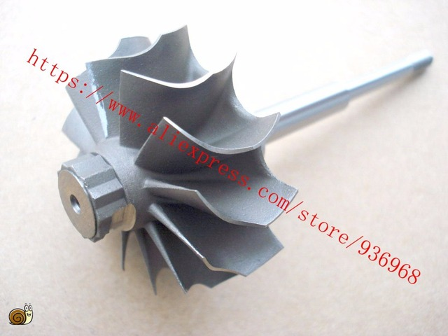 TD04L-Left Rotation Turbine wheel size 41.12mm*47.16mm, supplier by  AAA Turbocharger Parts
