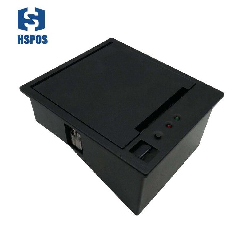 12V 58mm calowy kiosk termiczna drukarka paragonów auto cut 58mm panel bill maszyna drukarska z duży papier magazyn HS-EC58