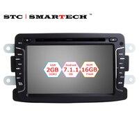 1 Din Android OS 2 GB RAM 7.1.2 Głowicy Nawigacji GPS Samochodu XRAY dla Lada 2 Renault Sandero Dacia Duster Duster Logan Captur 2
