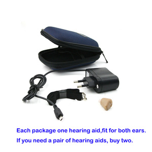 Image 4 - Hearing Ear Aid Rechargeable Small Convenient Adjustable Mini Hearing Aids Invisible Hear Clear the Elderly Deaf Ear care tools