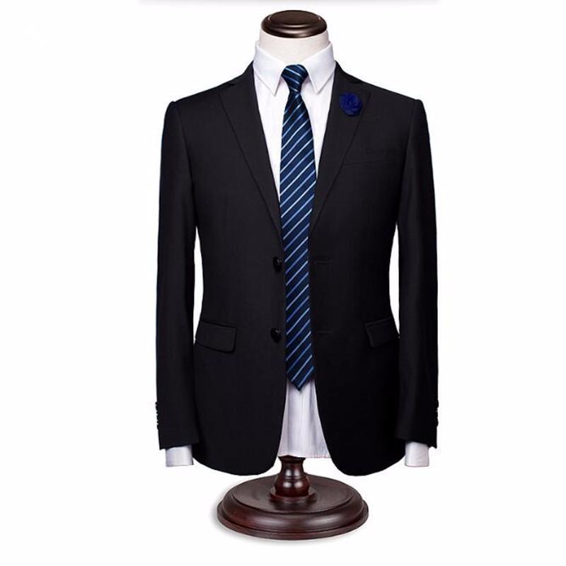 11.1Men suits jacket stylish elegant bridegroom wedding tuxedos jacket solid color single breasted formal business suits jacket