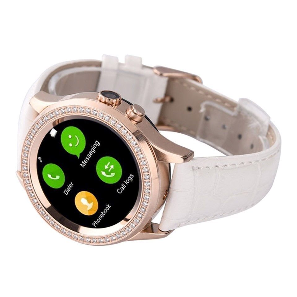 watches bg sl amoled strap inch leather beige product asus smart wearable with watch zenwatch